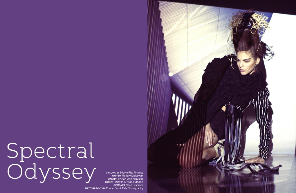 SPECTRAL ODYSSEY/PAPERCUT MAGAZINE