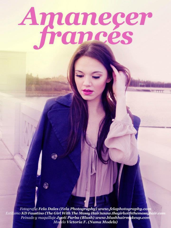 AMANECER FRANCES/ONMAG MAGAZINE