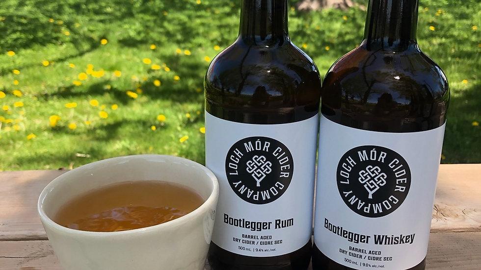 Barrel aged dry cider rum cider whiskey cider ontario prince edward county
