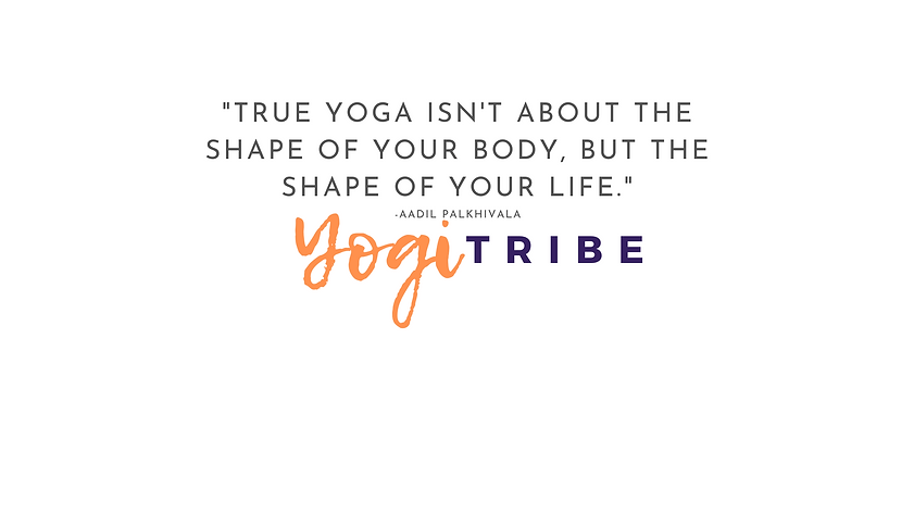 _True yoga isn't about the shape of your