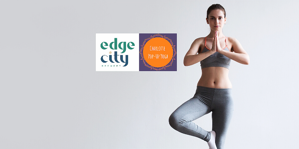 SOLD OUT! Yoga on Tap (Edge City Brewery)
