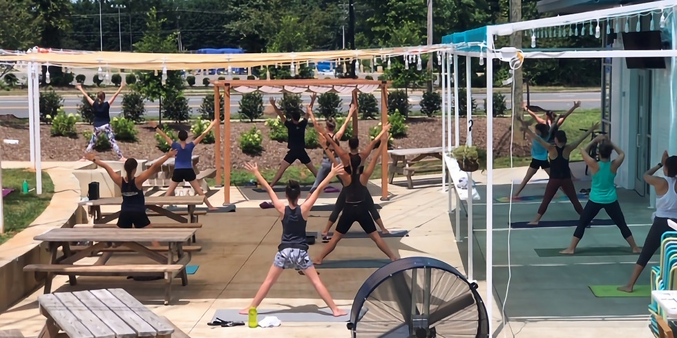 Yoga on Tap @ Edge City Brewery