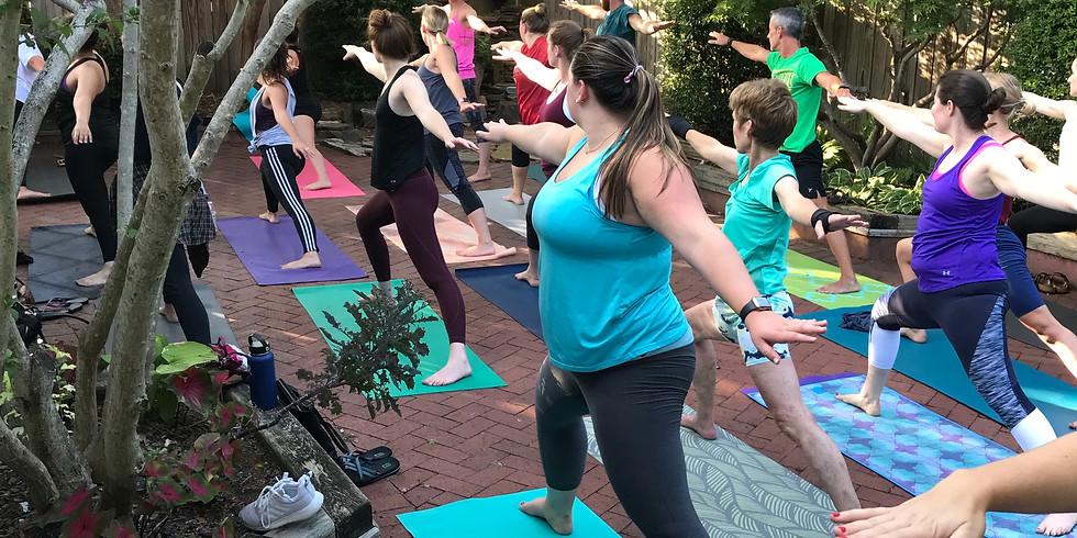 CANCELLED Yoga at Brakeman's ($10)