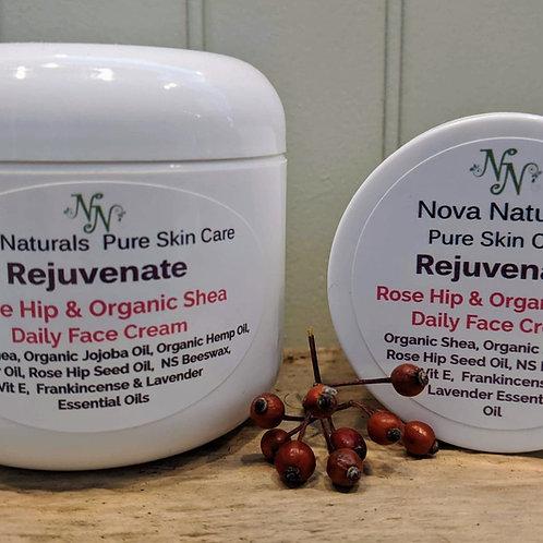 Rejuvenate Rose-Hip & Organic Shea Daily Face Cream