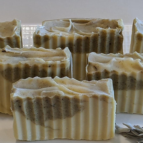 Patchouli & Sage Face and Body Bar