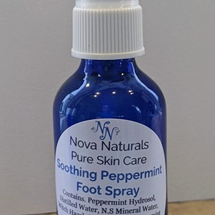 Soothing Peppermint Foot Spray