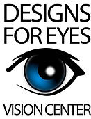 Designs For Eyes Vision Center Logo