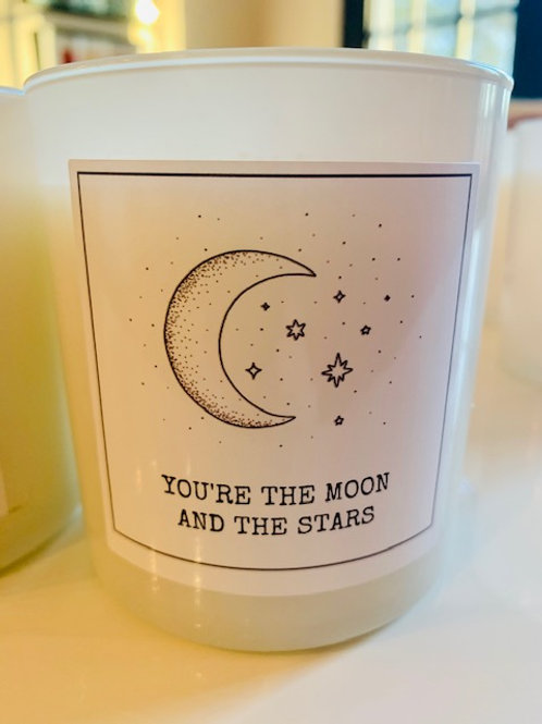 You are the Moon and the Stars Candle