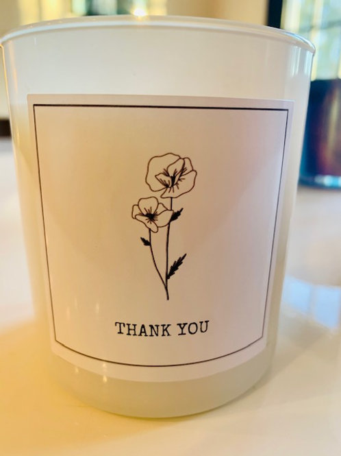 Thank You Candle