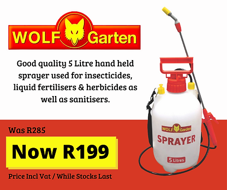 Good quality hand held sprayer used for
