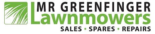 Mr Greenfinger Lawnmowers logo med.jpg