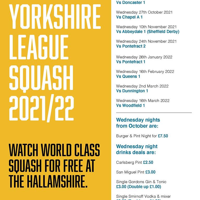 Yorkshire League Squash 2021/22