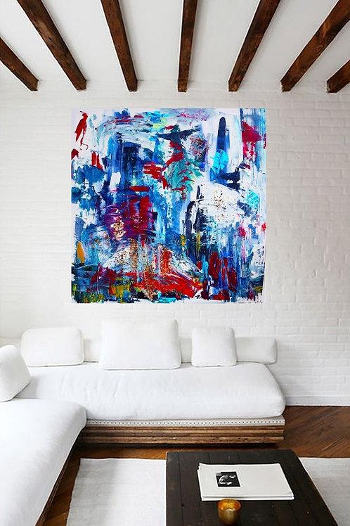 """Painting """"Chili dancer"""" 2014"""