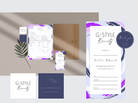 G-style Beauty branding by Brand Lab (15