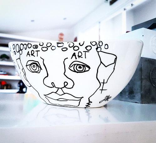 "Porcelain ""Salad punk"""