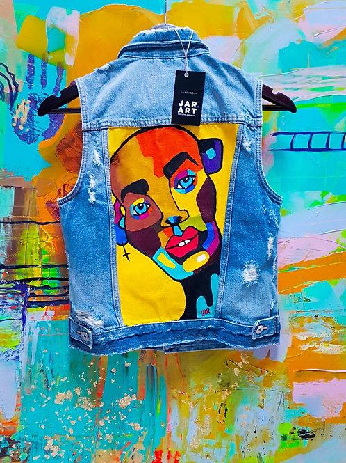 """""""RGB FACE"""" vest"""