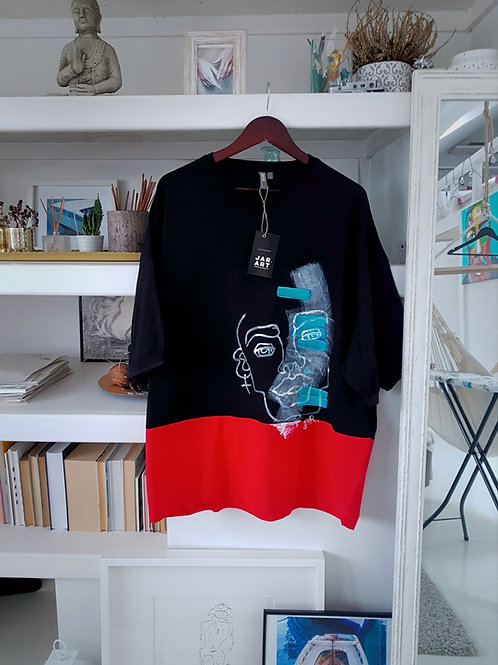 "T-shirt ""Black Cyborg"""
