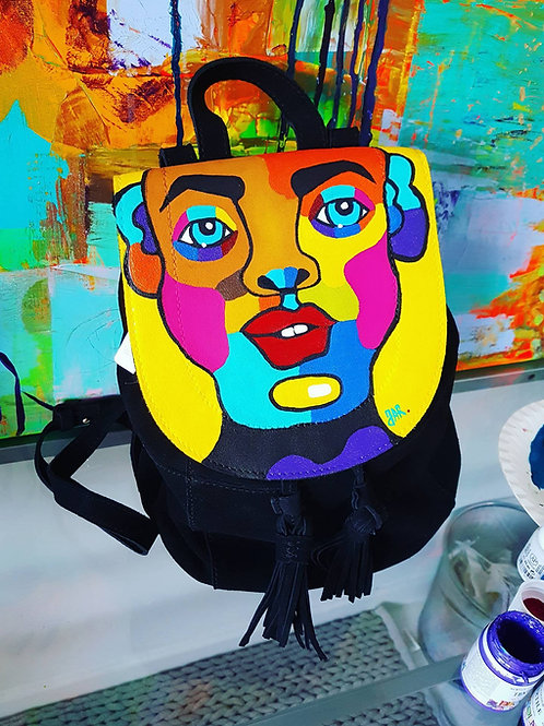 """Backpack """"RGB Face"""""""