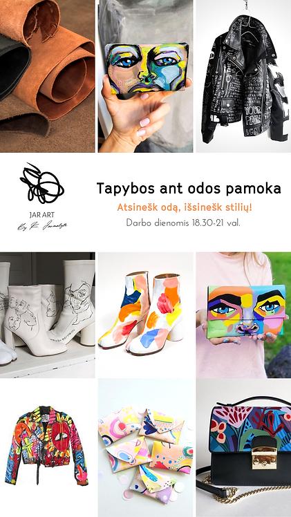 TAPYBOS ANT ODOS PAMOKA