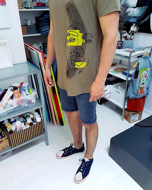 """T-shirt """"RGB Cyborg"""""""