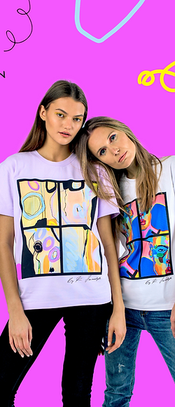Art and fashion in one!  Unisex T-shirt