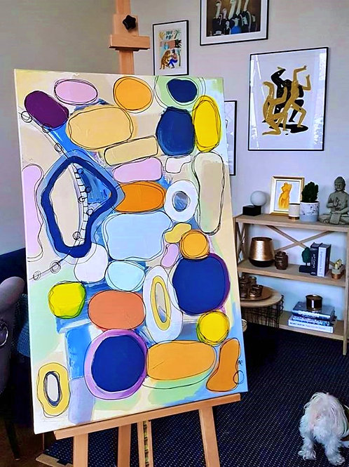 """Painting """"Shape of Color"""" 2019"""