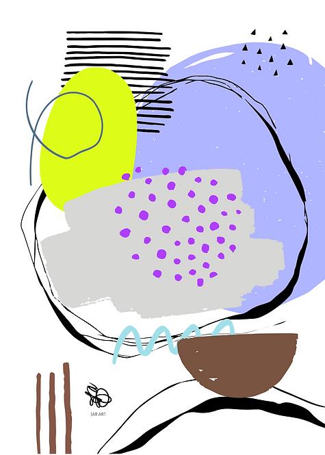 """Artwork """"SPRING"""" / Hand signed"""