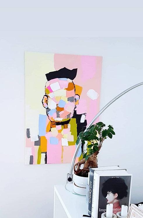 "Painting ""Pastel Punk"" 2018"