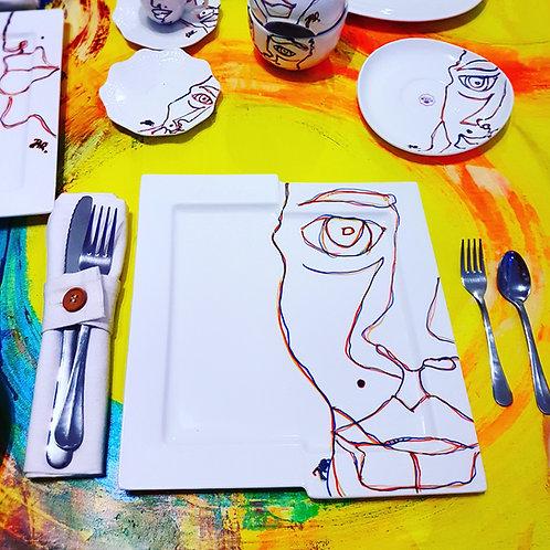 "Porcelain set ""Food prodigy"""