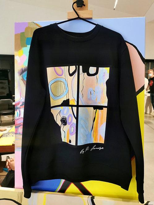 "Black sweatshirt ""Meraki """