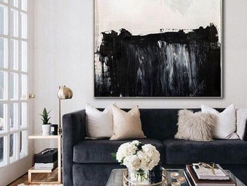 PAINTING ABOVE THE SOFA