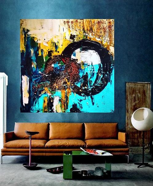 """Painting """"Euphoria"""" 2016"""