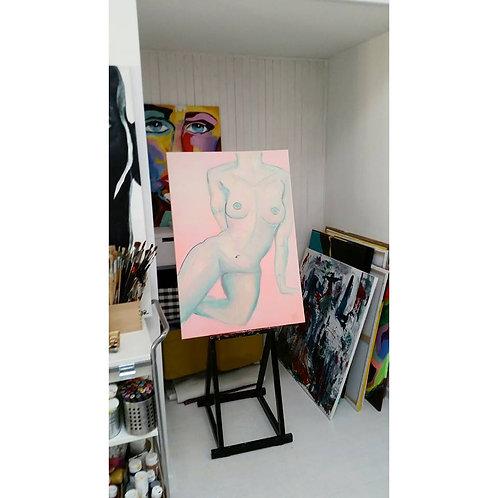 """Painting """"Pink Venus"""" 2016"""