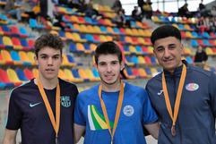 Podi Campionat de Catalunya sub20