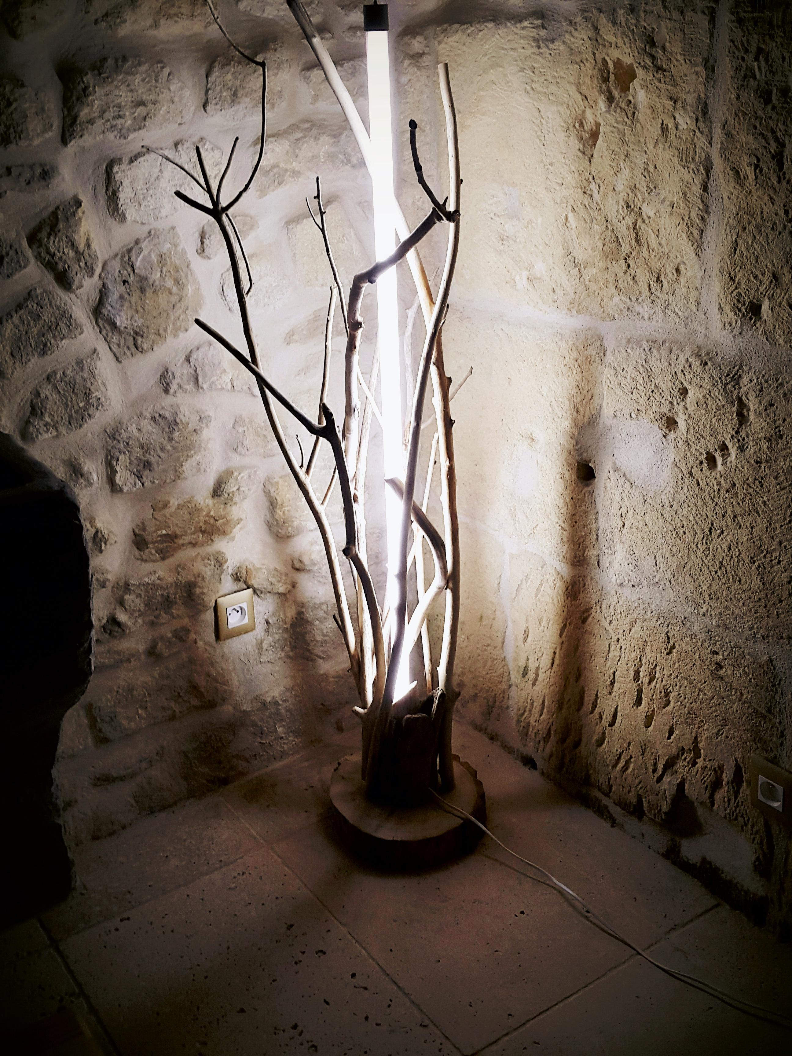 """Lampe Déco """"néon violet"""""""
