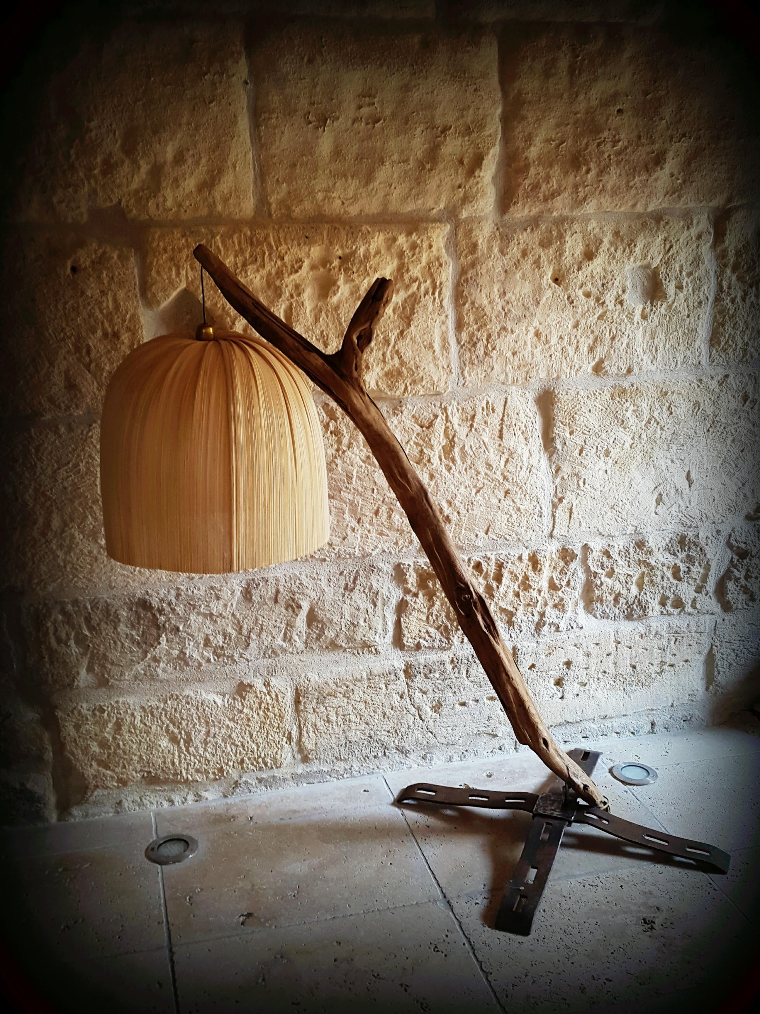 "Lampe ""pressoir d'antan"""