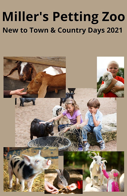 Miller's Petting Zoo New to Town & Count