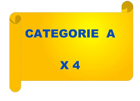 4 entraînements de catégorie A