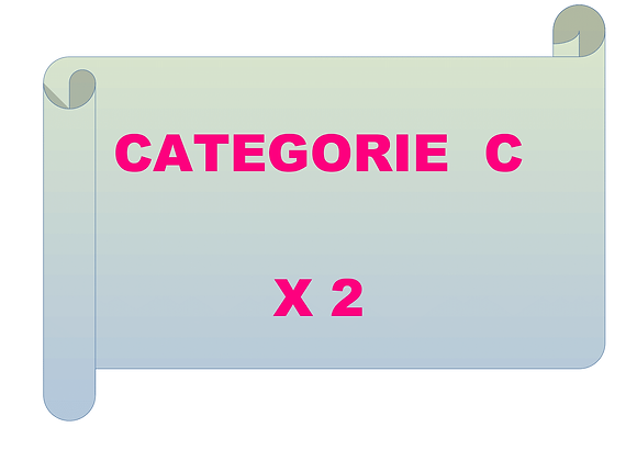 2 entraînements de catégorie C