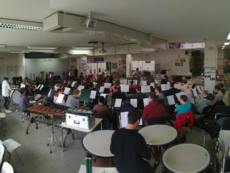 Iz zakulisja: Brez intenzivnih vaj ni novoletnega koncerta