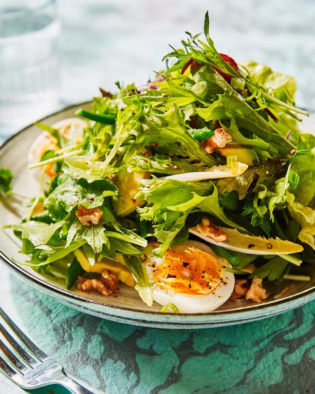 High Acid Deep Green Salad