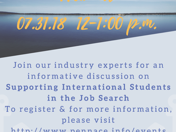 Back-to-School Webinar: Supporting International Students in the Job Search
