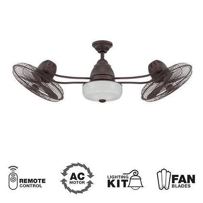 """Ventilador y Abanico de techo Craftmade modelo Bellows II 48"""" Para Exterior"""