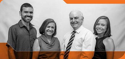 Sócios da empresa Pfeiffer Cultural: Alex, Cristina, Marcus e Daniela Pfeiffer.