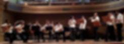 Apresentação da UFRJ Choro Ensemble no salão Leopoldo Miguez - Rio de Janeiro