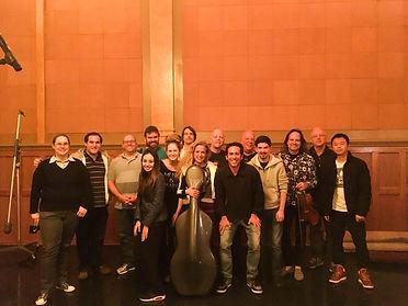 Após gravacão de uma trilha no The Village studios - Los Angeles, CA