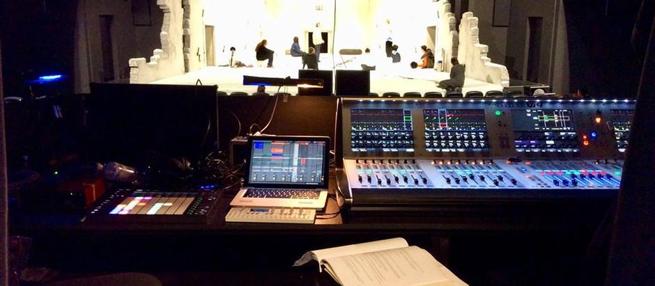 doing the music for @Der futurologische Kongress  Theater Oberhausen  premiere 2.2.18
