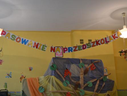 Dzień Edukacji Narodowej - Pasowanie na Przedszkolaka