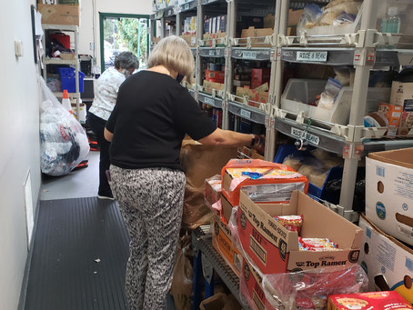 ST. MARTIN'S FOOD PANTRY REPORT 9/13/2021