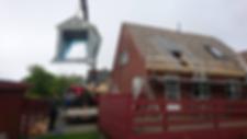 Renovering af tag, Tømrermester Kent Haysen, Tømrer i Kolding.